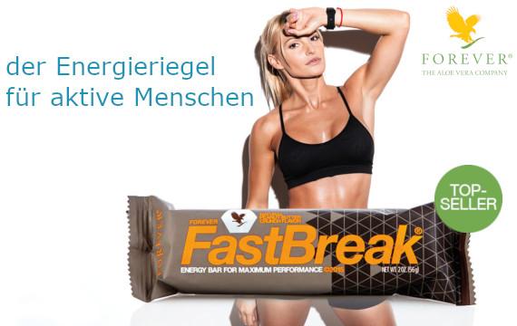 Forever FastBreak, das ist deine perfekte Zwischenmahlzeit, Dein Powersnack für den Energieschub im Alltag. Ob im Büro, zu Hause oder in der Freizeit