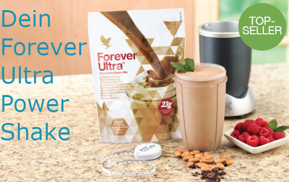 Fit mit Forever Ultra Power Shake